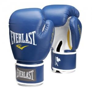 Everlast Muay 8oz Thai Striking Pro Gloves 泰拳真皮拳套 (pair) Life055/8030101