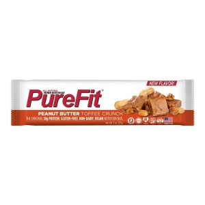 PureFit Nutrition Bar - Peanut Butter Toffee Crunch (57g) 812787013001 (Pre-order item)