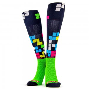 Flippos Compression Stocking - Time Out 翻轉運動壓力襪 - 方塊 (pair)
