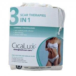 CicaLux Energized Scar-Care (3 in 1 Kit) 祛疤樂 溫熱除疤貼套裝 (pack-60 days) cica-00001