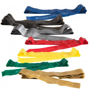Thera-Band CLX Consecutive Loops Exercise Bands (9 Loops) 九環練力帶 (pcs) HYGE-00255 HYGE-00257 HYGE-00259 HYGE-00261 HYGE-00263 HYGE-00265