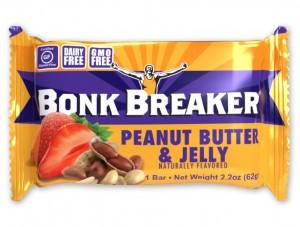 Bonk Breaker Premium Performance Bar - Peanut Butter & Jelly (62g) 094922554024