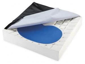 Orliman VISCO Silicone Anti-Bedsore Square Cushion w/ Memory Foam 矽膠防褥瘡減壓記憶海綿座墊 (pcs) OSL1260